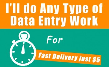 Data Entry Fast Typer ($ 5/ hr)