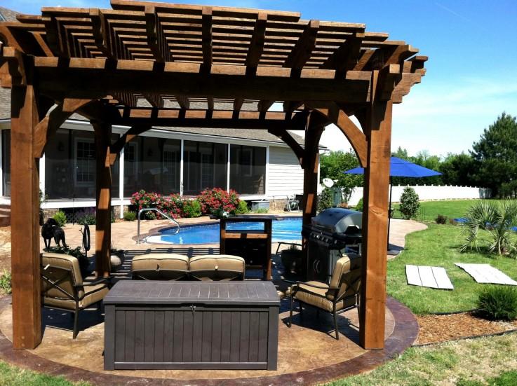 Get Stylish Pergolas Design in Outdoor Home From Western Pergolas 'N' Decks