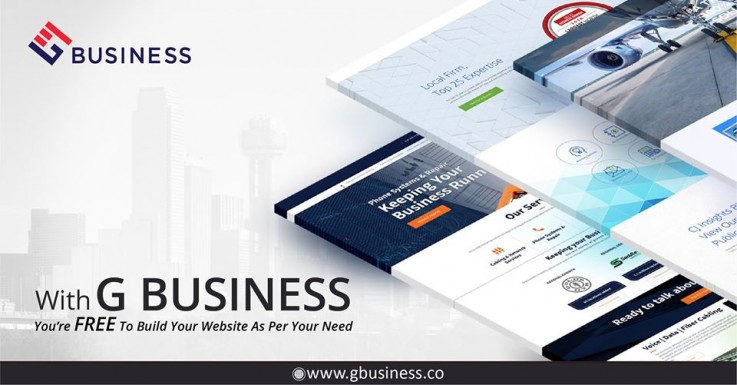 Create your free website with Gbusiness as per your need