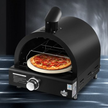 Grillz Portable Pizza Oven BBQ Camping L