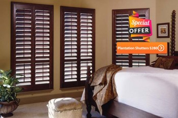 Summer offer Plantation shutters