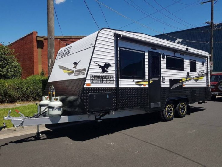 2018 CONDOR FAMILY CARAVAN WITH 3 BUNKS