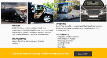 Formal Party Bus Hire in Sydney