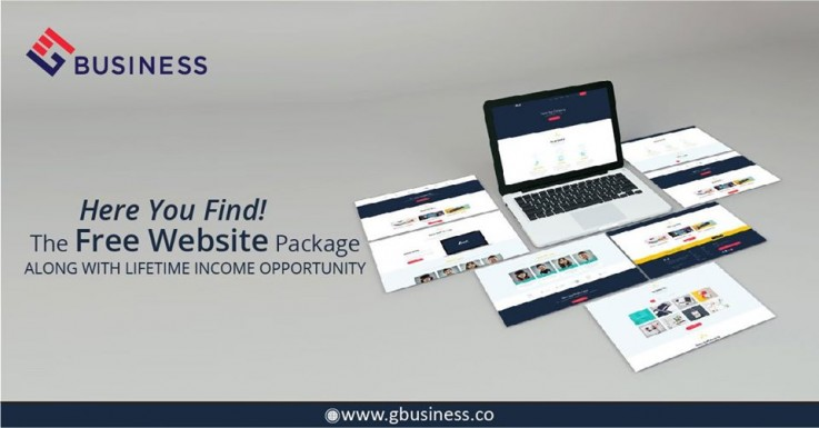 Create your free website builder with Gbusiness