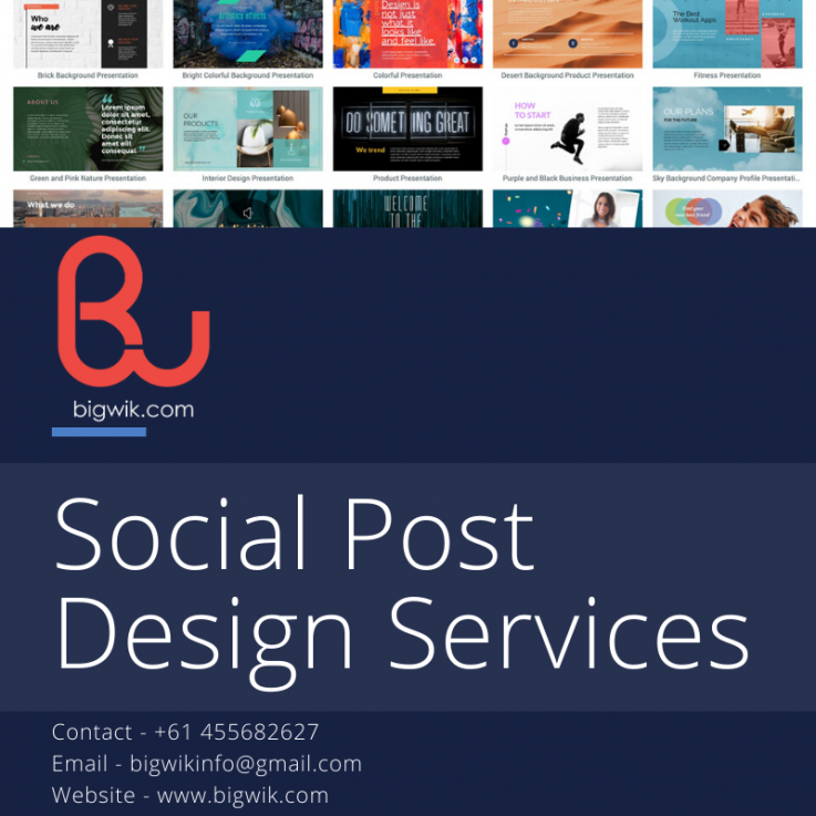 Social Media Design Services | Social Media Posting Design Services in Sydney