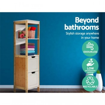 Artiss Bathroom Cabinet Tallboy Furnitur