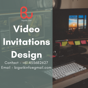 Invitation Video Services In Sydney | Digital Wedding Invitation Video Service