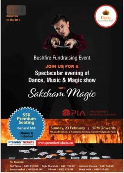 Bushfire Fundraising Event in Sydney