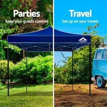 Instahut 3x3m Outdoor Gazebo – Blue