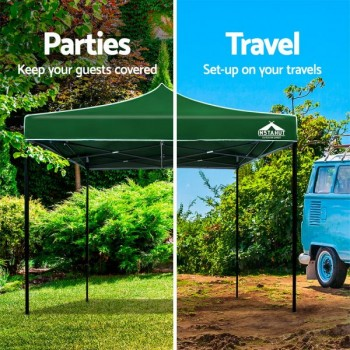 Instahut 3x3m Outdoor Gazebo – Green