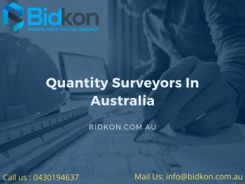 Quantity Surveyors in Australia