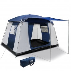 Weisshorn 6 Person Dome Camping Tent – N