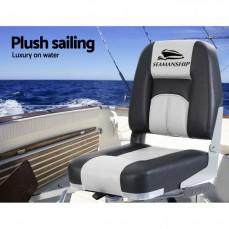 Seamanship 2X Folding Boat Seats Seat