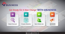 Book Domain and Create Your Free Website with Gbusiness