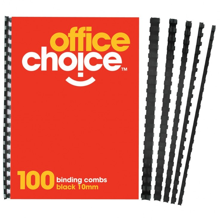 OFFICE CHOICE BINDING COMBS Plastic 12mm