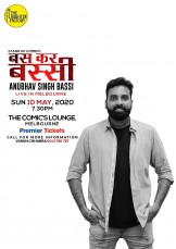 Standup Comedy by Anubhav Bassi – Melbou