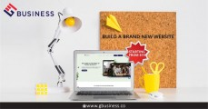 Build a brand new website