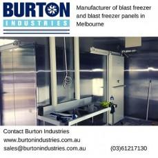 Manufacture Blast Freezer panels in Melbourne
