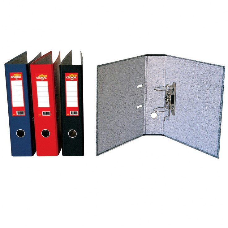 OFFICE CHOICE LEVER ARCH FILES A4 Mottle
