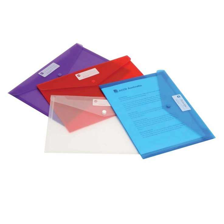 MARBIG DOCUMENT WALLET Doculope A4 Purpl