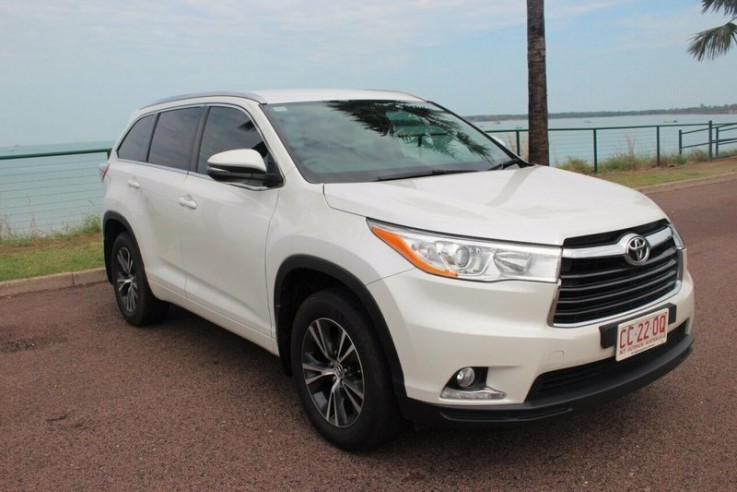 2015 Toyota Kluger Gxl 2wd Wagon
