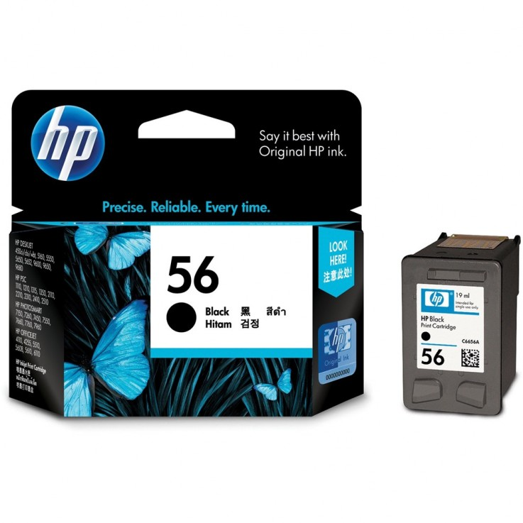 HP #56 INKJET CARTRIDGE 5160/5550 C6656A
