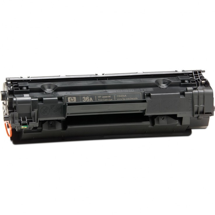 HP CB436A TONER CARTRIDGE #36A Black