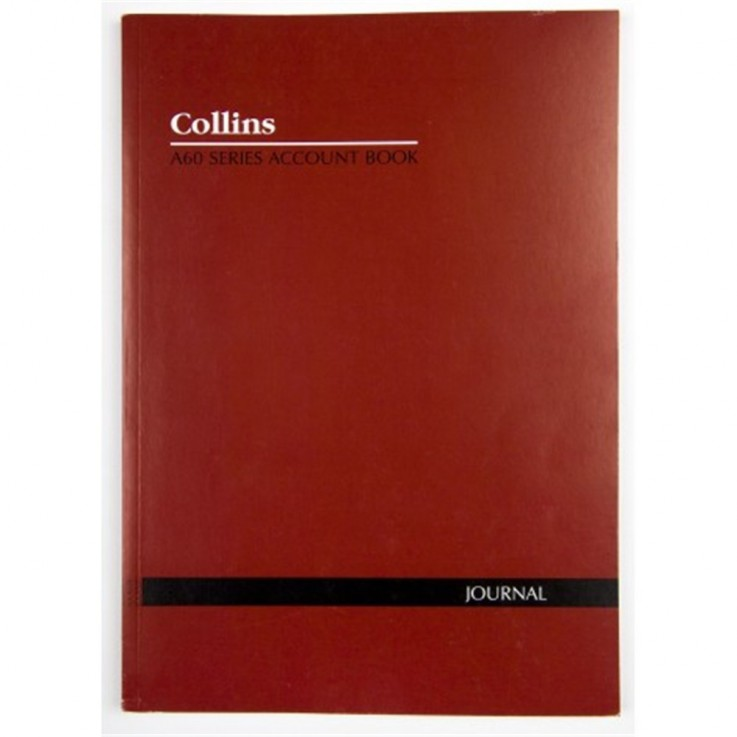 COLLINS A60 ANALYSIS BOOK A4 Journal Red