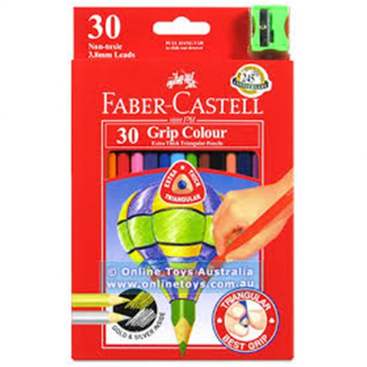 FABER CASTELL COLOURED PENCILS Junior Gr