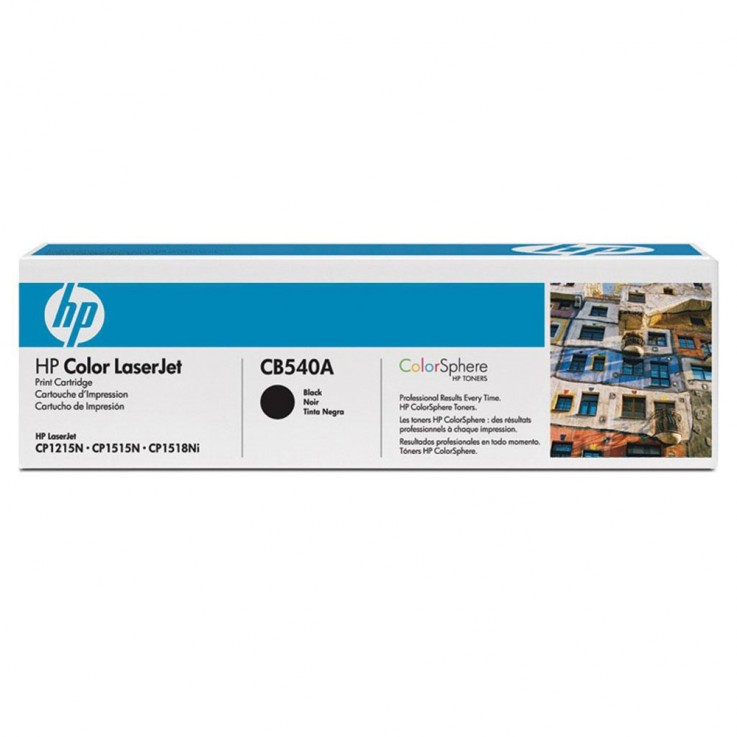 HP CB540A TONER CARTRIDGE #125A Black