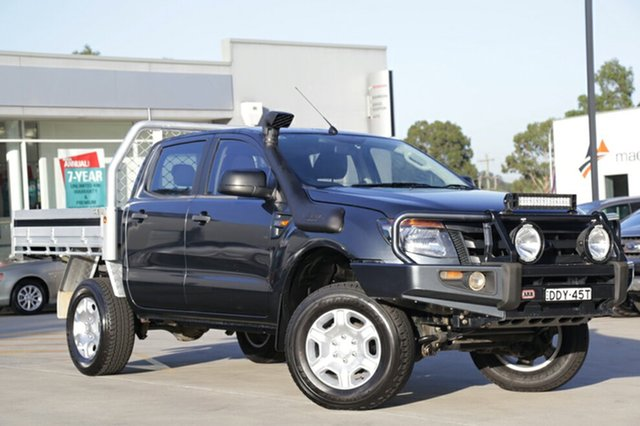 2012 Ford Ranger XL Double Cab Cab Chass