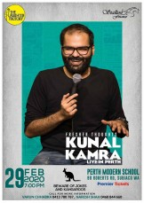 Fresher Thoughts by Kunal Kamra in Perth