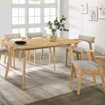 1.5m 6 seaters OVAL dining table : colou