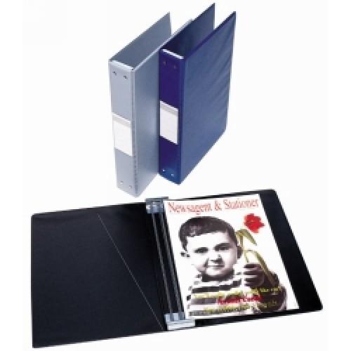 Bantex A4 Pvc Magazine File Black