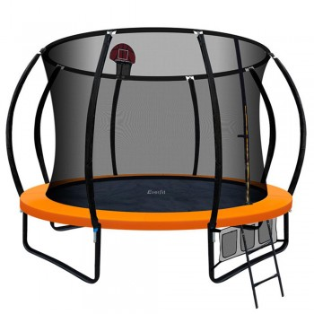 Everfit 10FT Trampoline With Basketball