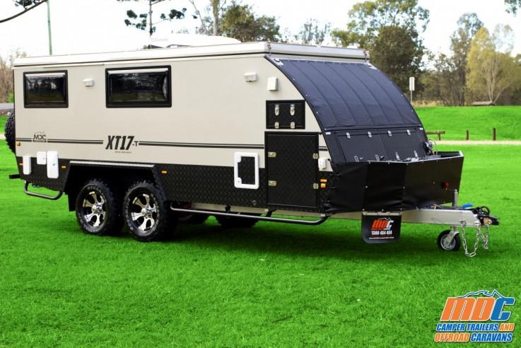 XT17-T Off Road Hybrid Caravan