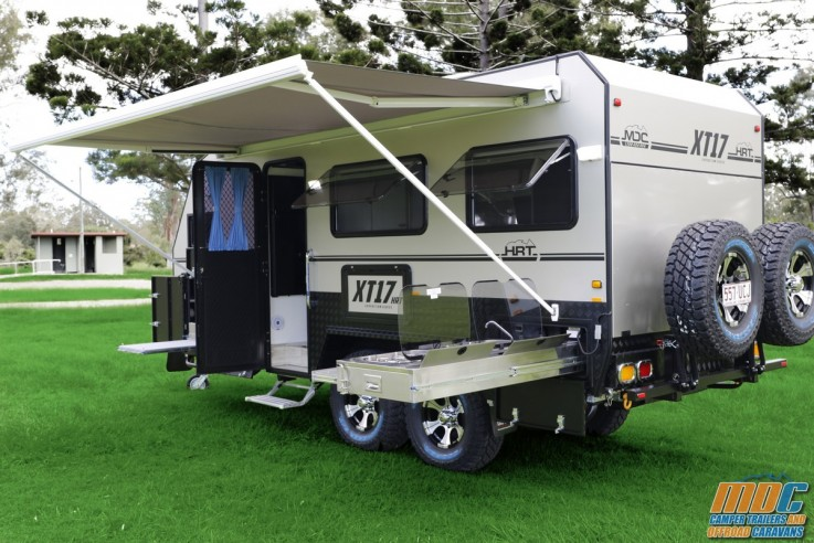 XT17-HRT Off Road Caravan