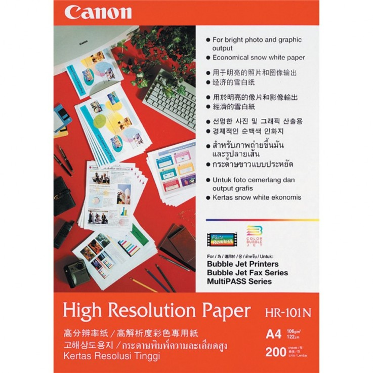 Canon A4 High Resolution Paper Pkt200