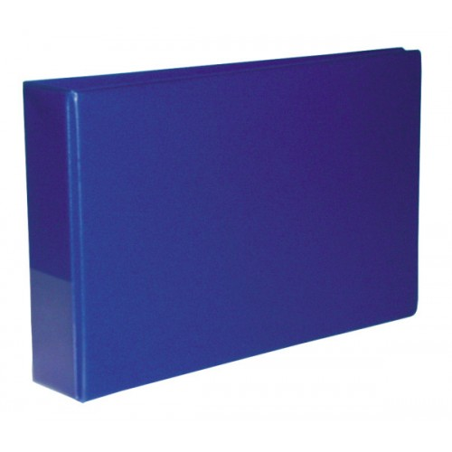 A4 50mm 2d Oblong Binder Blue