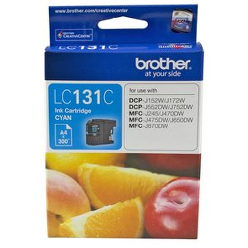 Brother Lc-131 Cyan Ink Cartridge