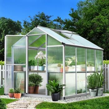 Greenhouse Aluminium 2.42×1.9M