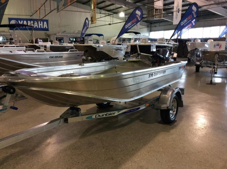 2017 Quintrex 370 Car Topper Yamaha