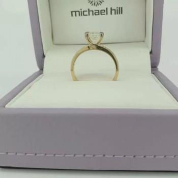 1 Carat Princess Cut Diamond Engagement