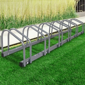 1 – 6 Bike Floor Parking Rack Instant St