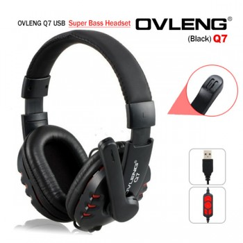 Computer Headphones with Mic and Volume