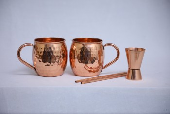 Superior-Quality Copper Moscow Mule Mugs