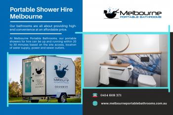 Best Portable Shower Hire Across Melbourne