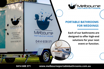 Are you getting married and need to hire portable wedding toilets for the big day?