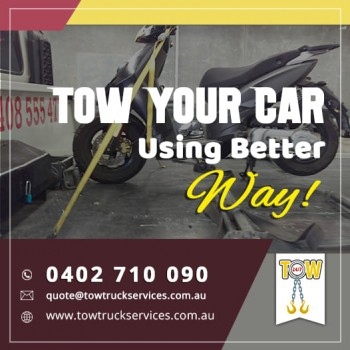 Tow Truck Services-Tow Car better way