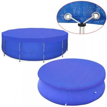 Pool Cover PE Round 540 cm 90 g/m?
